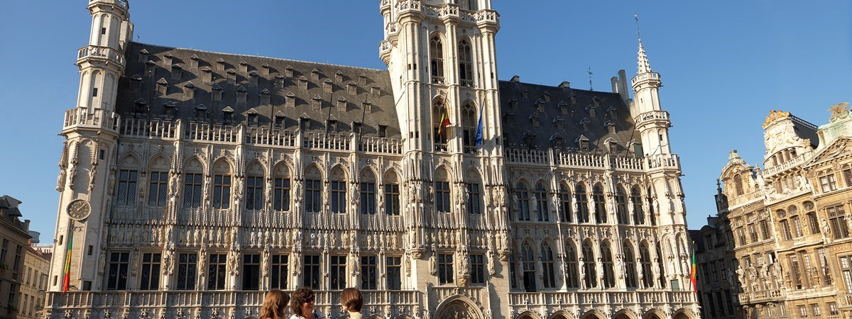 Town Hall on Grand Place, Brussels